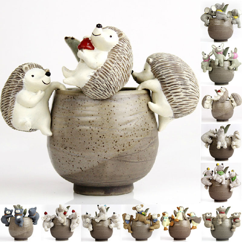 Resin animals pets garden decoration ornaments home decors for Outdoor house ornaments