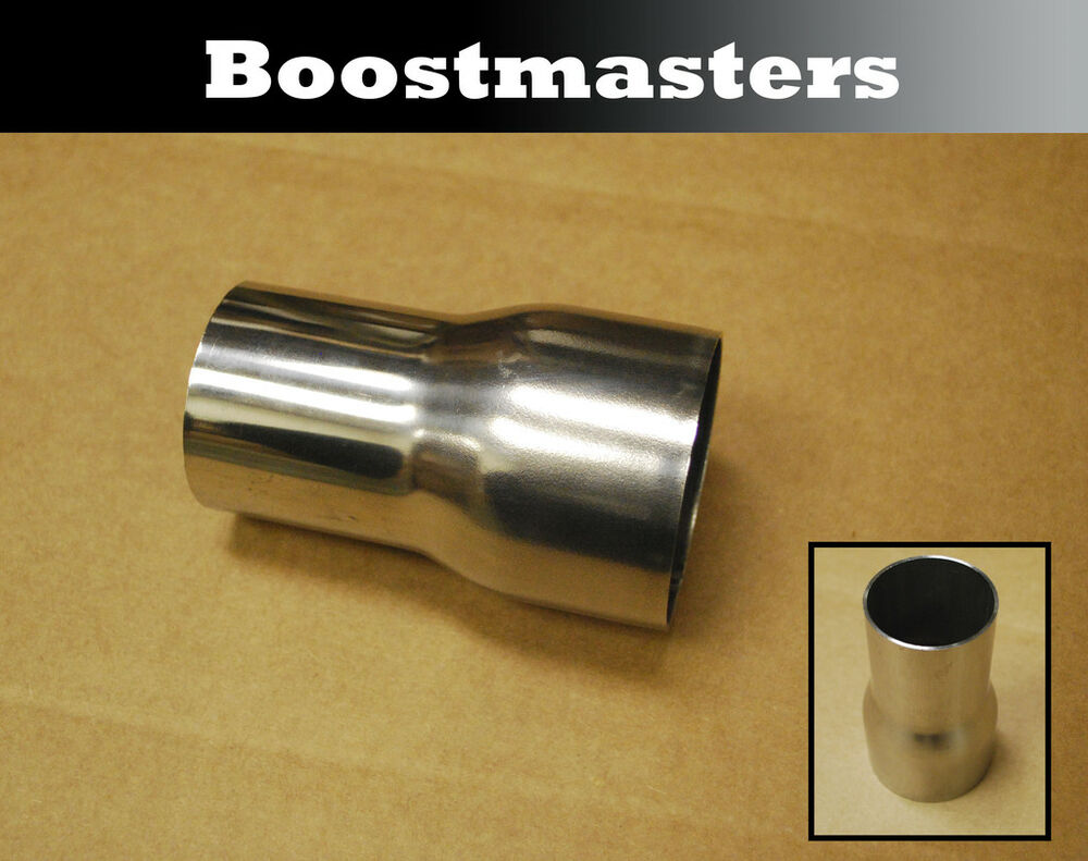 For stainless steel exhaust universal piping reducer