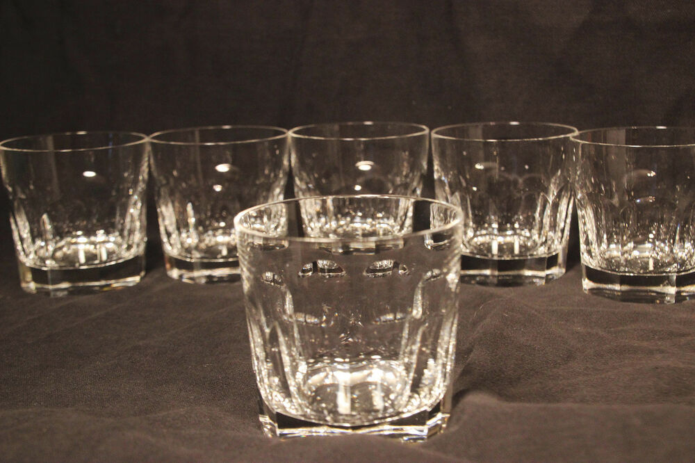Double Strength Glass Cutting : Waterford glencree double old fashioned crystal cut glass