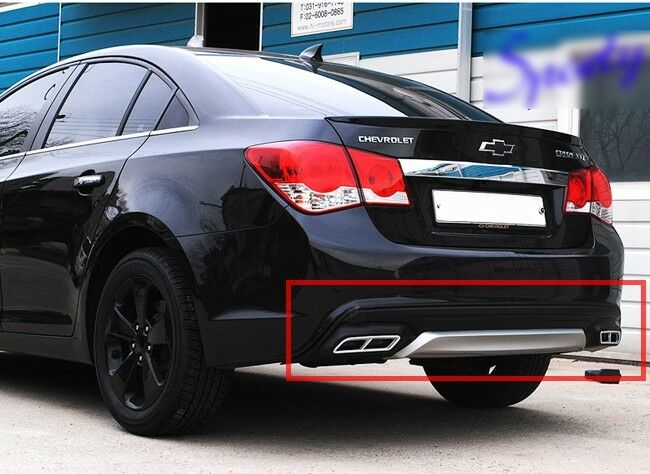 Rear Diffuser Bumper Pad Two-tone [Diesel] For 2012 2013 ...