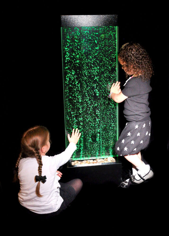 1.3 Meter Colour Changing LED Sensory Mood Bubble Water ...