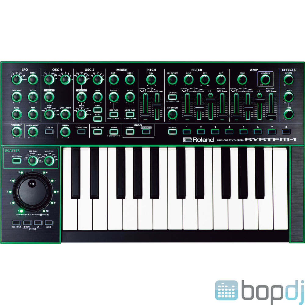 Roland System 1 Aira Plug Out Capable Synthesiser Keyboard