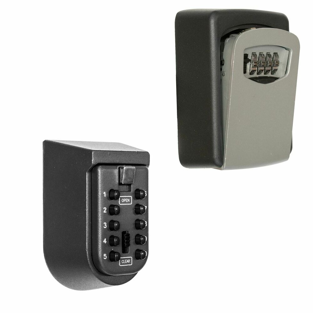 outdoor high security wall mounted key safe box secure. Black Bedroom Furniture Sets. Home Design Ideas