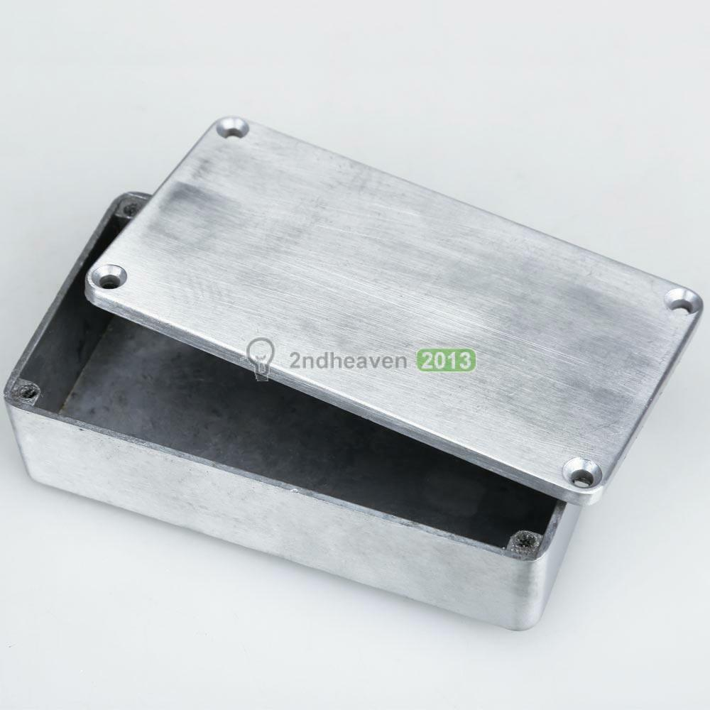 Metal Pedal Case : Aluminum b style effects pedal stomp box enclosure for