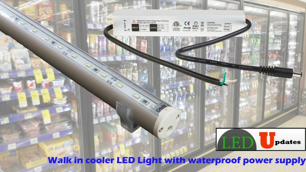 5ft Walk In Cooler Led Light For Retail Store Include Ul