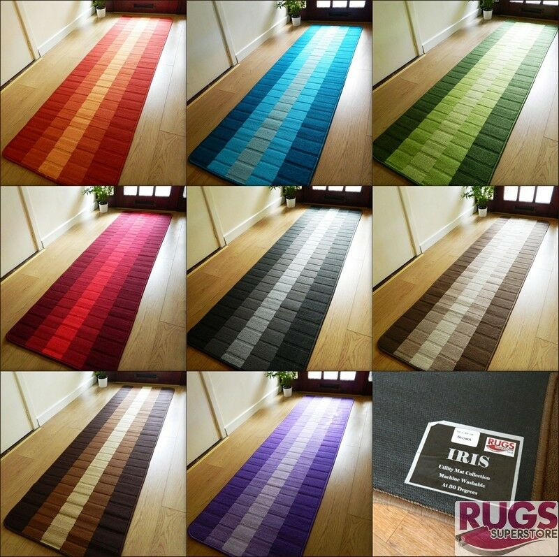 Machine Washable Non Slip Hall Runner Rugs Cheap New Long
