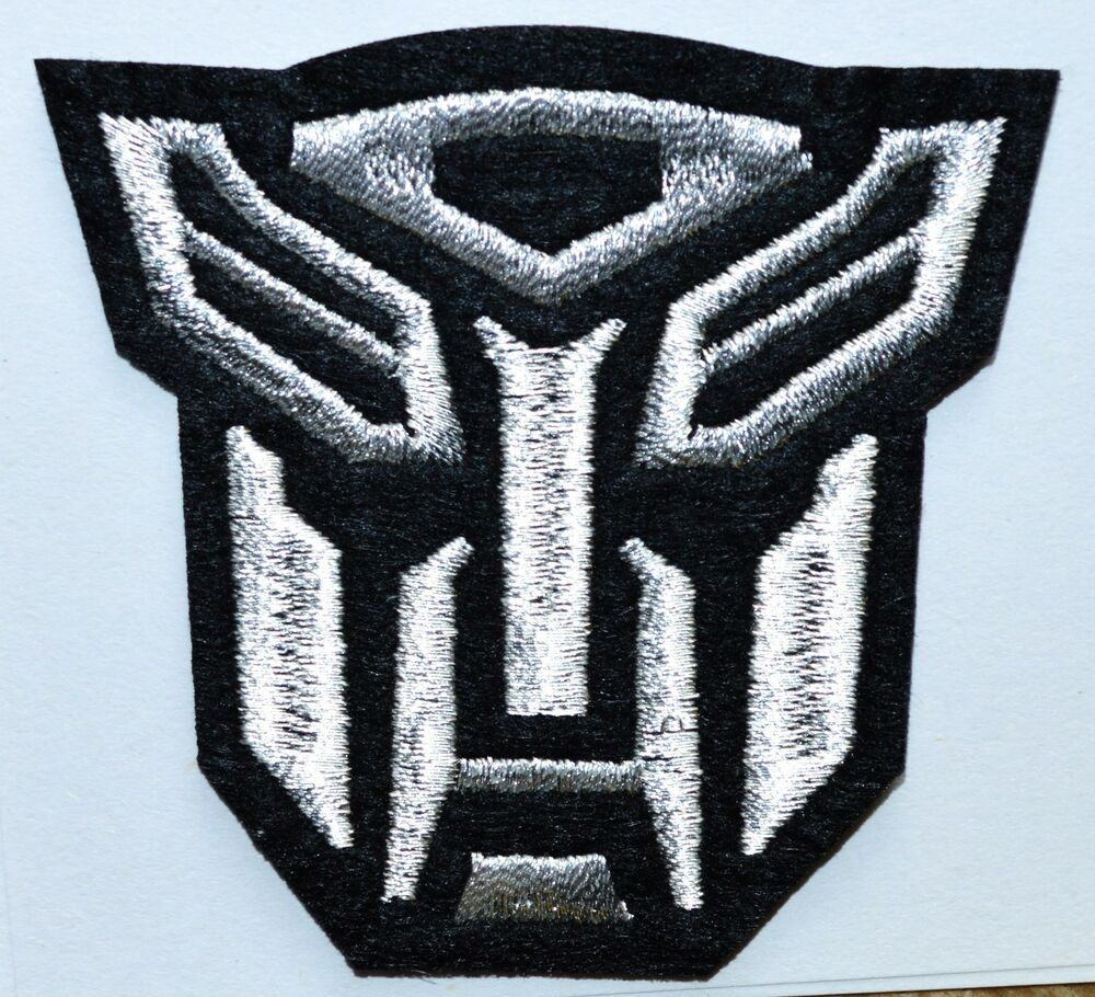 cool autobot transformers iron on patches shirt hat jean