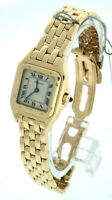 Cartier Panther 18k yellow gold Ladies Watch.
