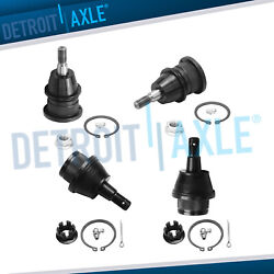 Kyпить 4pc Front Upper and Lower Ball Joint Set for Chevy GMC Cadillac Tahoe Express  на еВаy.соm