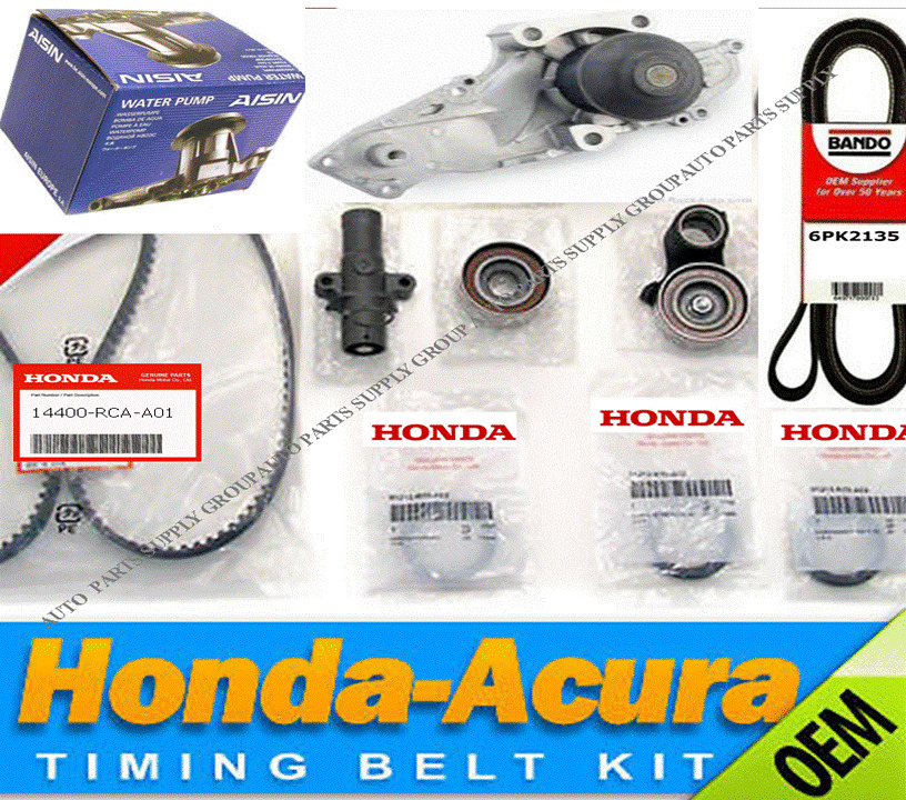 Genuine / Aisin OEM Timing Belt & Water Pump Kit Honda