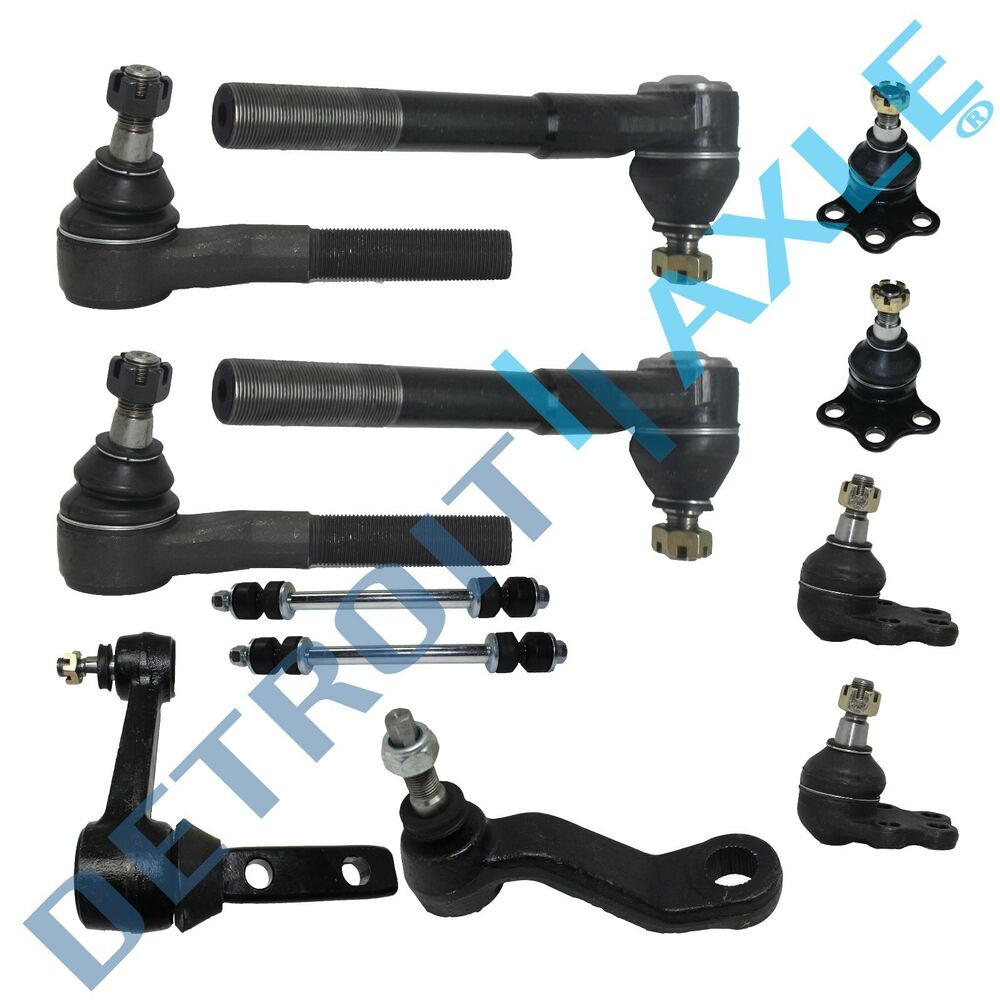 Front Suspension: Brand New 12pc Complete Front Suspension Kit For Dodge Ram