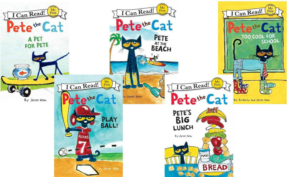 Pete The Cat Series Books Reading Level