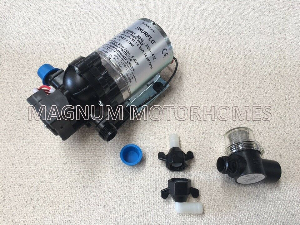 Shurflo 20psi Water Pump - Including Filter