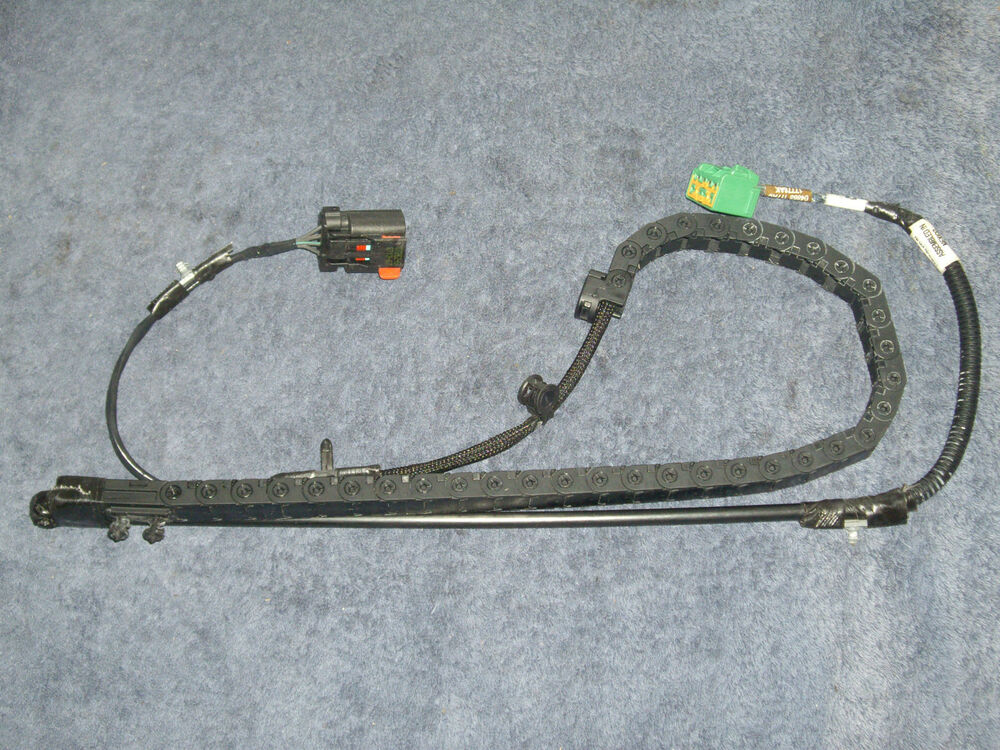 oem 04 07 dodge caravan town country lh manual sliding door track wire harness ebay