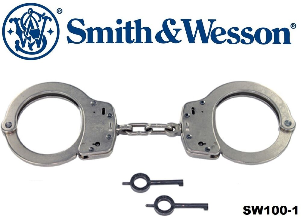 Smith Amp Wesson Nickel Tactical Law Enforcement Handcuffs