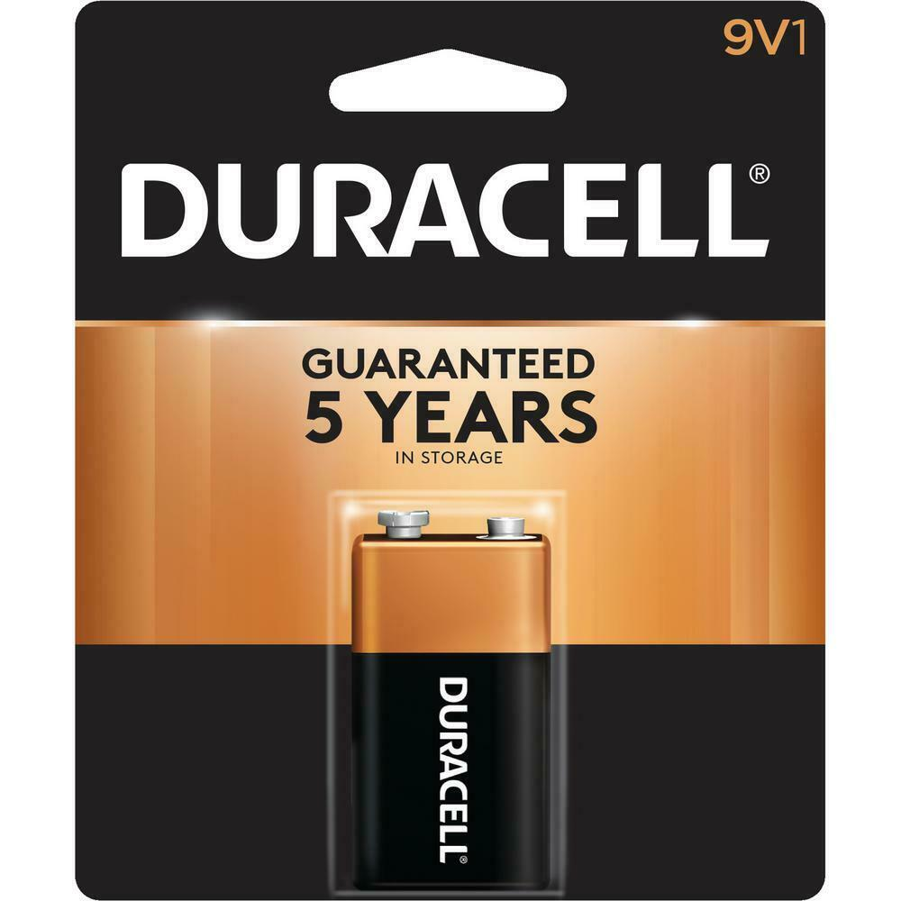 duracell 9v volt mn1604 brand new alkaline battery ebay. Black Bedroom Furniture Sets. Home Design Ideas