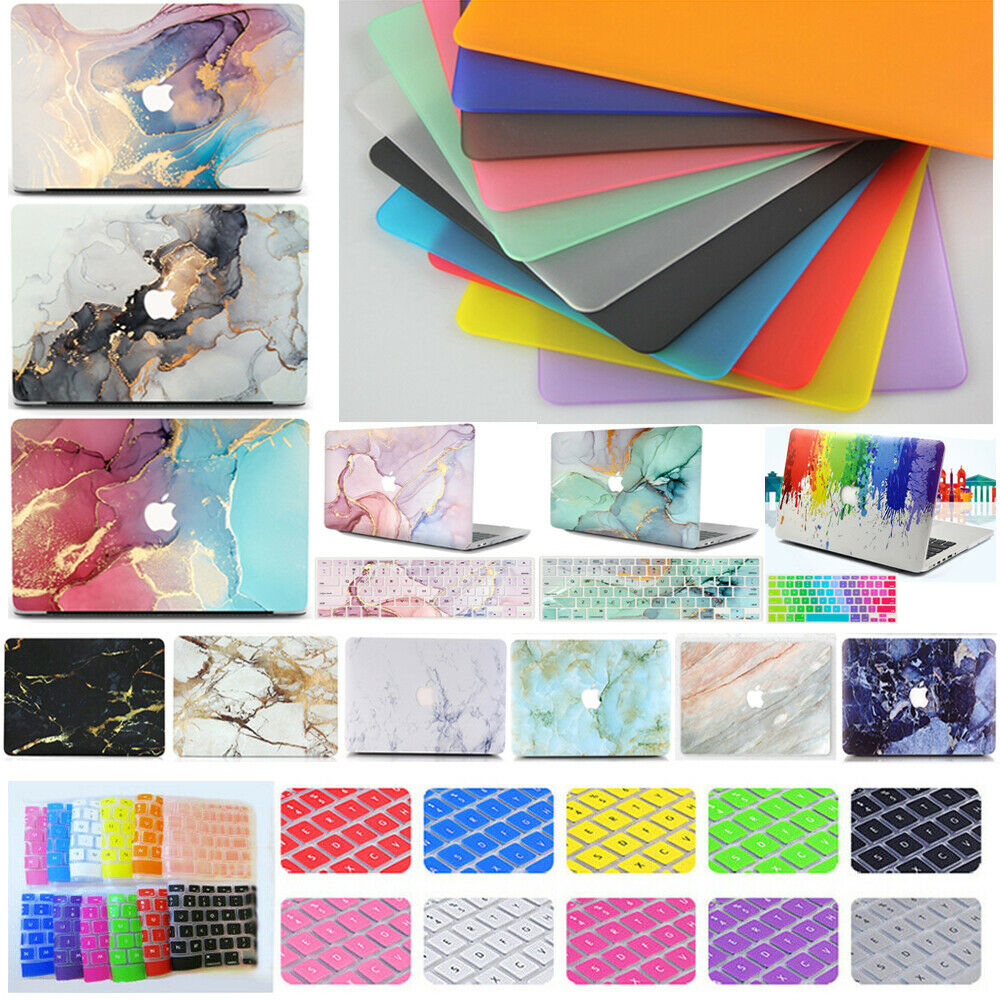 rubberized hard case shell keyboard cover for macbook pro 13 15 air 11 13 inch ebay. Black Bedroom Furniture Sets. Home Design Ideas