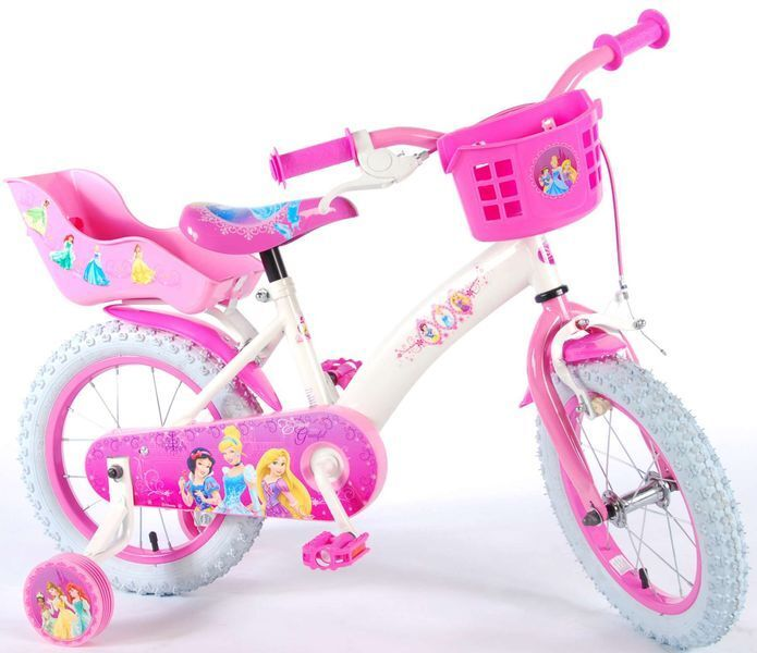 12 14 16 zoll disney princess prinzessin kinderfahrrad. Black Bedroom Furniture Sets. Home Design Ideas
