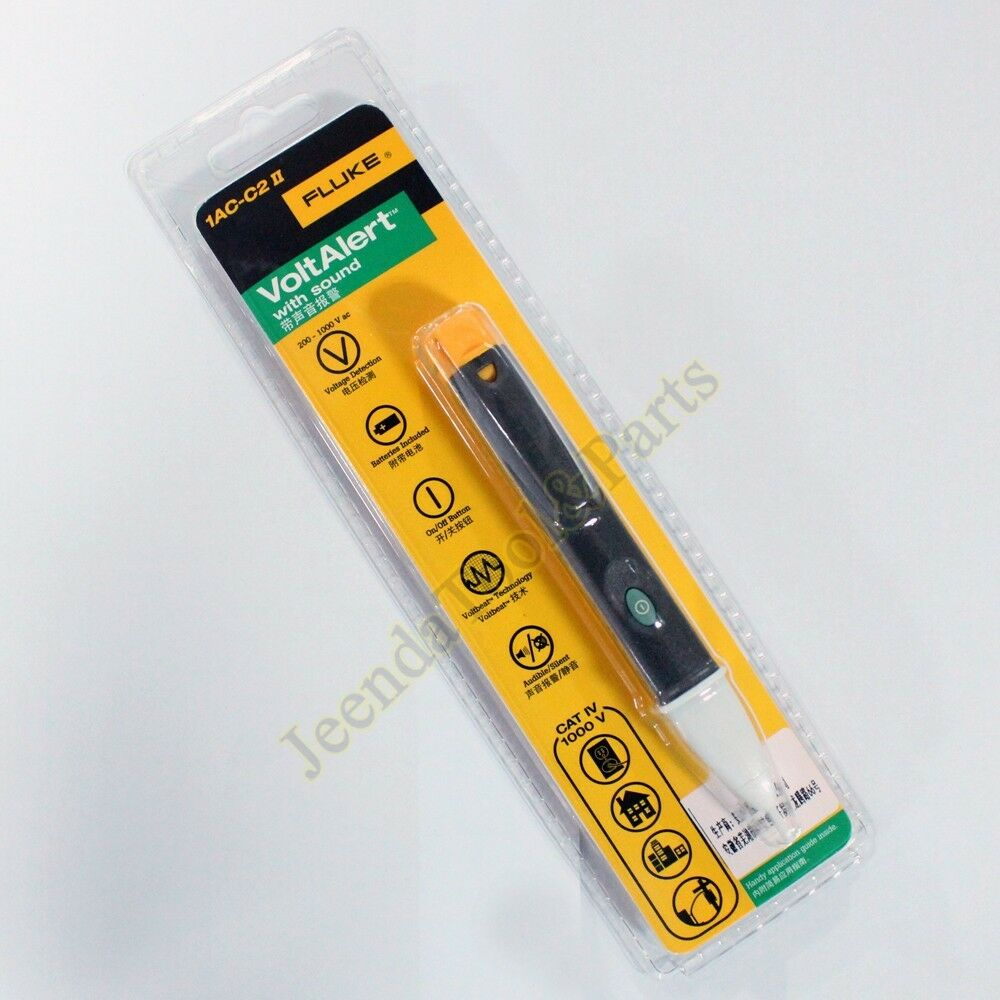 Fluke Voltage Detector : Fluke ac c ii v non contact voltage detector