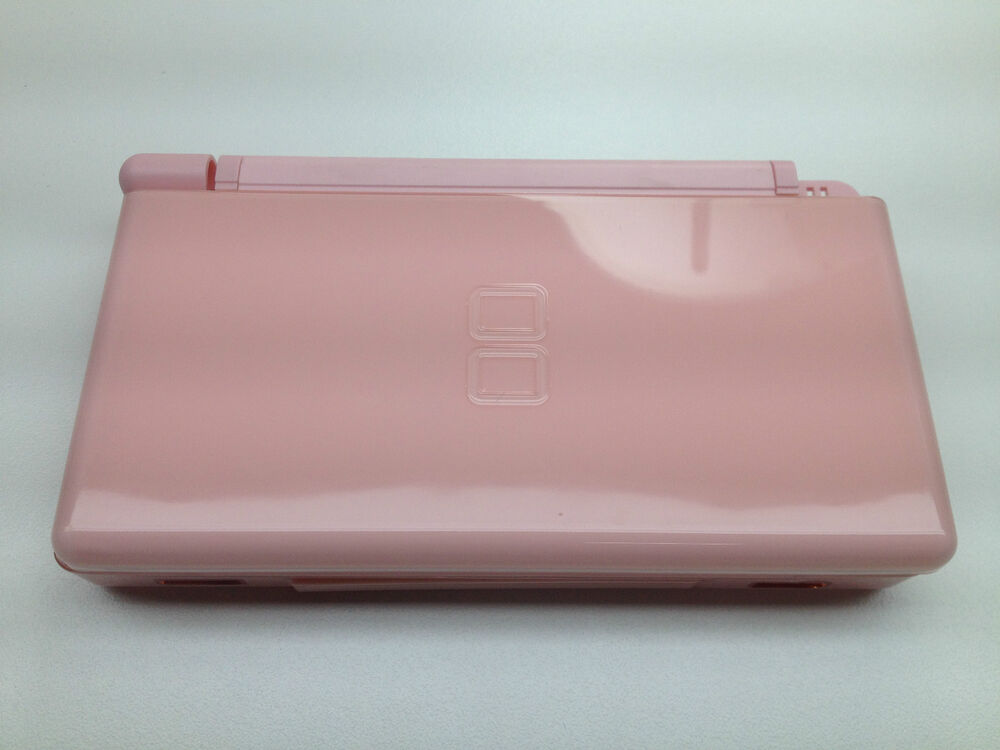 nintendo ds lite case replacement us seller full housing shell pink ebay. Black Bedroom Furniture Sets. Home Design Ideas