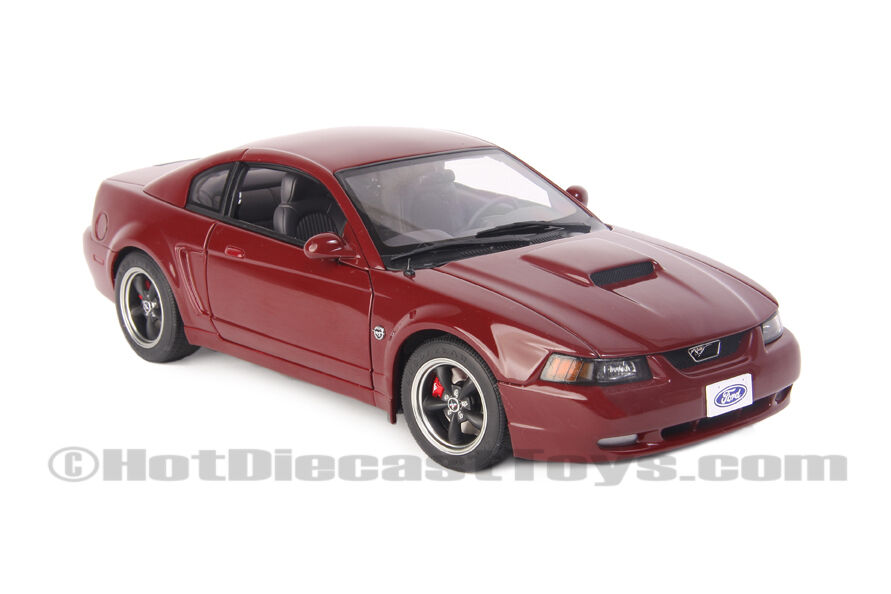 autoart ford mustang gt 40th anniversary 2004 1 18 red. Black Bedroom Furniture Sets. Home Design Ideas