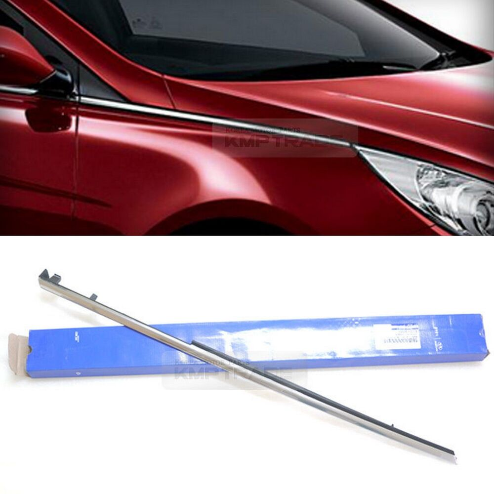 Oem Parts Front Fender Chrome Molding Trim Right For