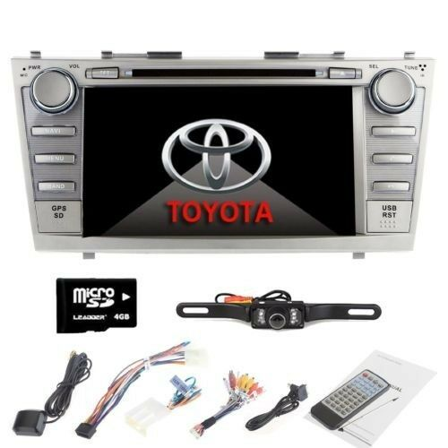 8 car dvd player radio stereo gps navigator fit for toyota camry 2007 2011 cam ebay. Black Bedroom Furniture Sets. Home Design Ideas