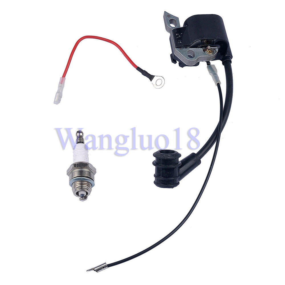 New Ignition Coil Spark Plug For Stihl Ms170 Ms180 017 018