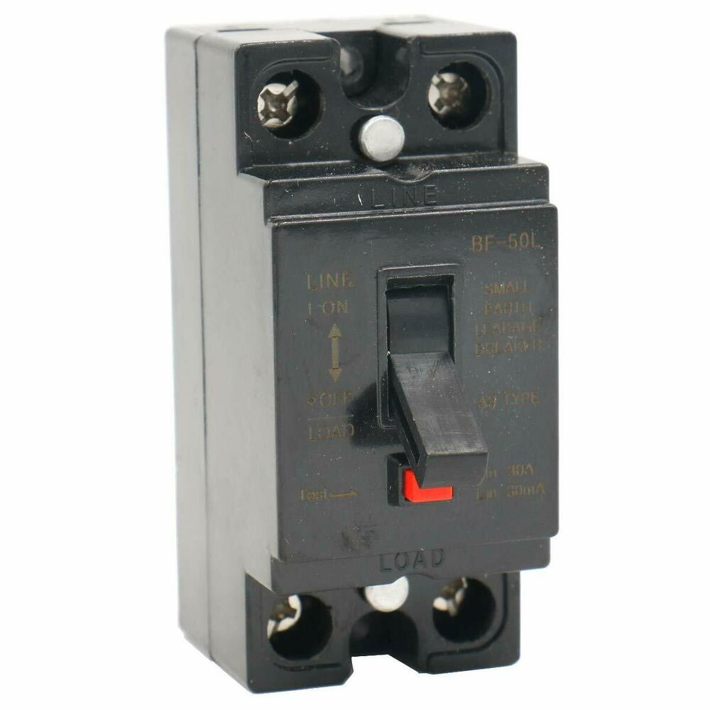 Ac 110v 220v 30a 2p Elcb Earth Leakage Circuit Breaker Ebay