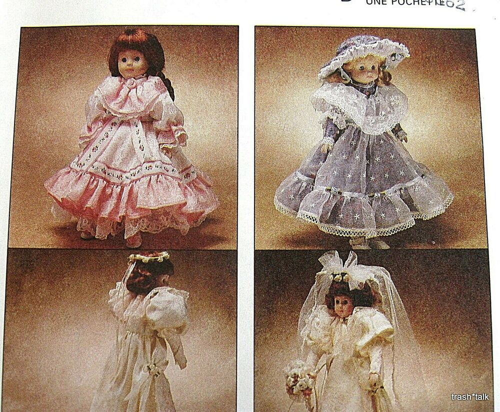 Fancy Frocks Doll Clothes Craft Pattern Victorian Party