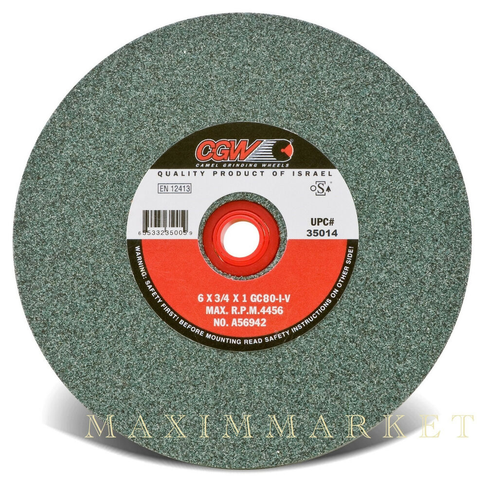 Cgw 6 Quot X3 4 Quot X1 Quot Grinding Wheel Green Silicon Carbide 100