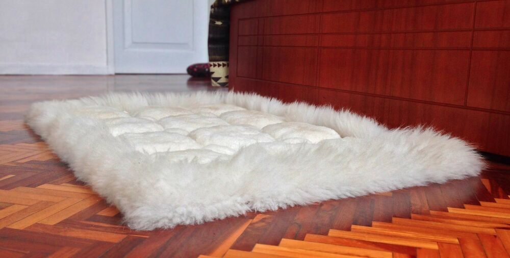 Large Super Soft 100 Alpaca Llama Fur Luxury Handmade Rug