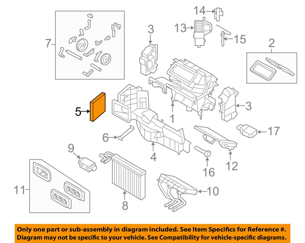 Overview Of Bmw Engine Parts Diagram Wiring Library X6 Diagrams Oem 08 16 Cabin Air Filter 64319194098 Ebay