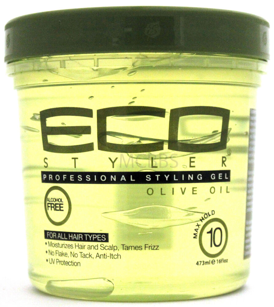 olive hair styling eco styler olive styling hair gel maximum hold 16 oz 3327