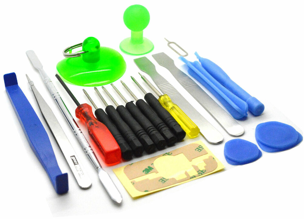 cell phone repair tool kit 21 in 1 screwdriver set for iphone ipod tablet nokia ebay. Black Bedroom Furniture Sets. Home Design Ideas