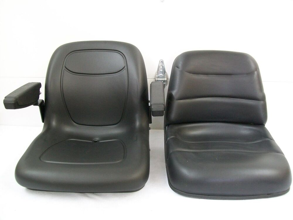 Compact Tractor Seats : Black seat for case ih dx