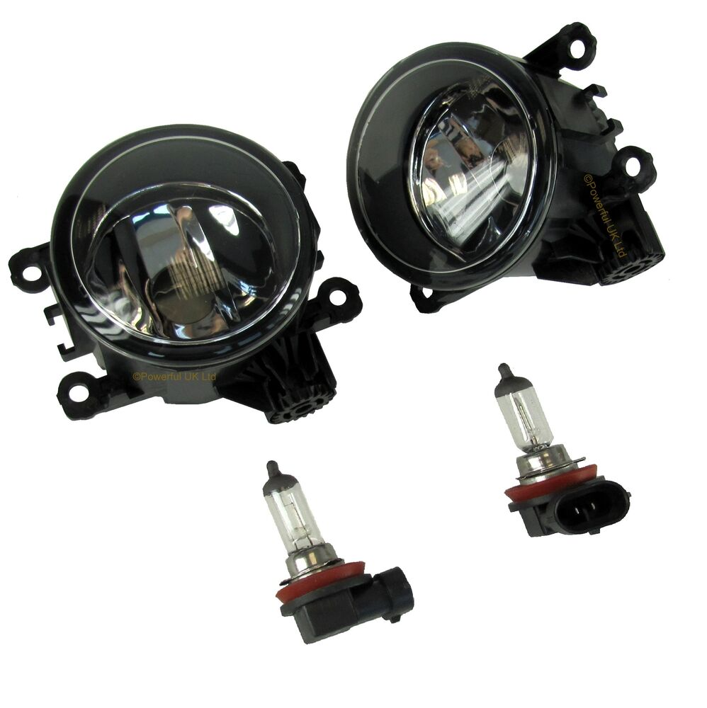 Pair Of Clear Front Indicator Lights For Land Rover: PAIR Of Fog Lamps Lights For Land Rover Freelander 2 LR2
