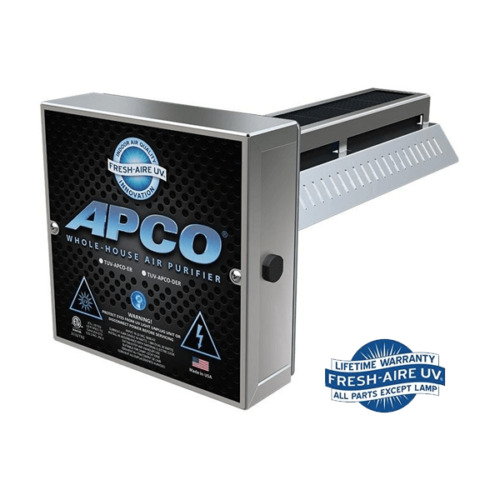 aire apco tuv apco er2 in duct air purifier 2 year uv lamp ebay. Black Bedroom Furniture Sets. Home Design Ideas