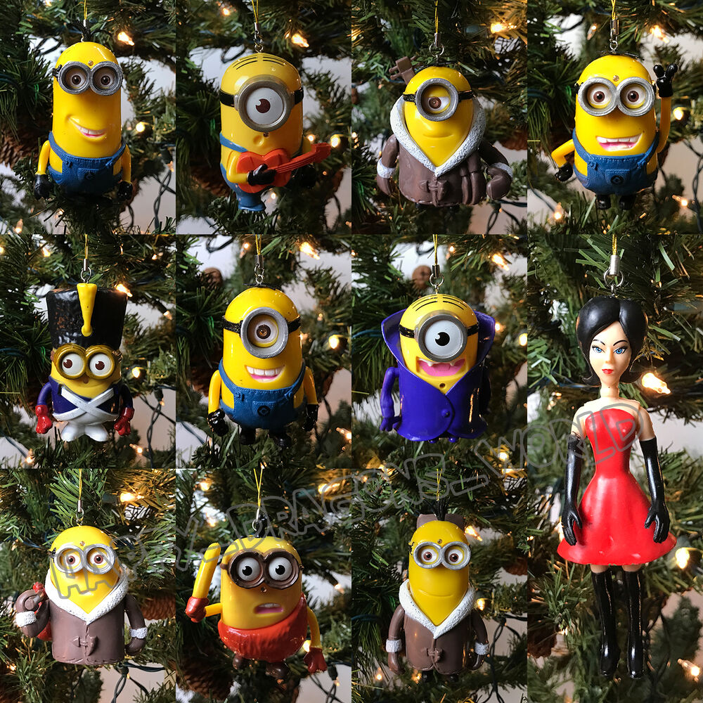 New 11Pcs Despicable me 2 Character Figures Toy Minions ...