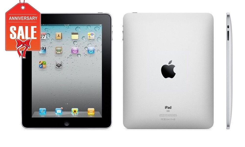 apple ipad 1st generation 16gb wi fi black. Black Bedroom Furniture Sets. Home Design Ideas
