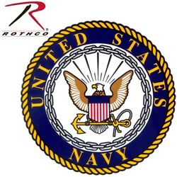 USN United States Navy Seal Decal Sticker (BACK GUM) DIMS: 4.25''  Rothco 1221