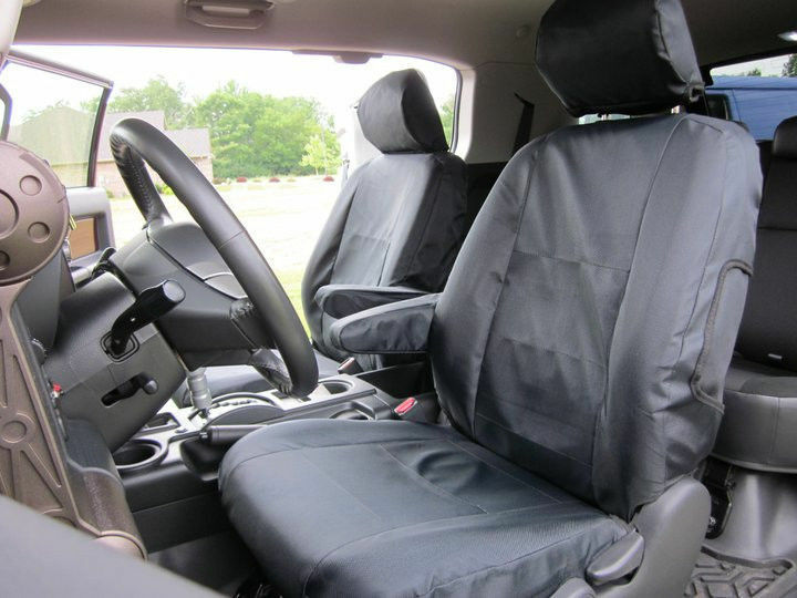Coverking Seat Covers >> Toyota 4Runner Coverking Cordura Ballistic Custom Fit Front Seat Covers | eBay