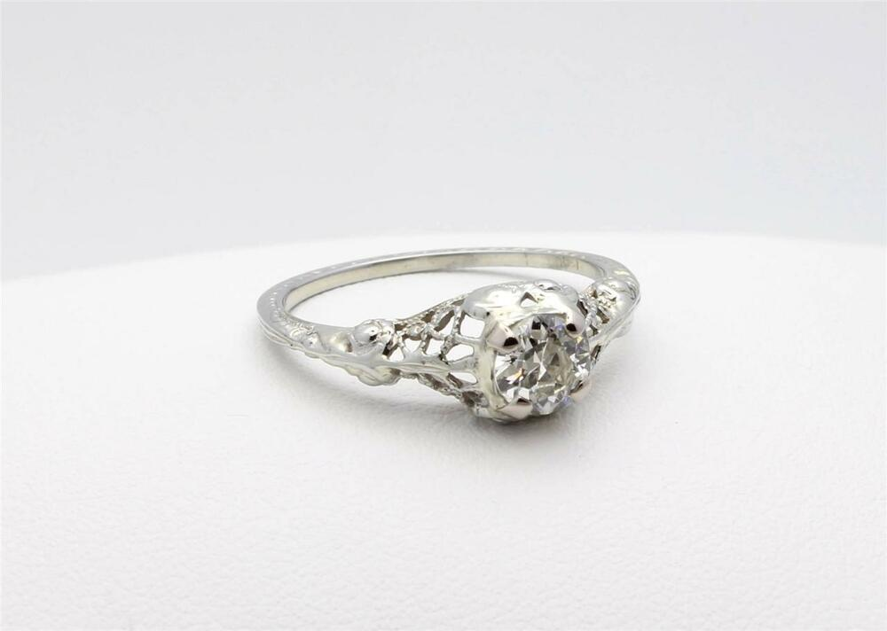 History Antique Engagement Rings