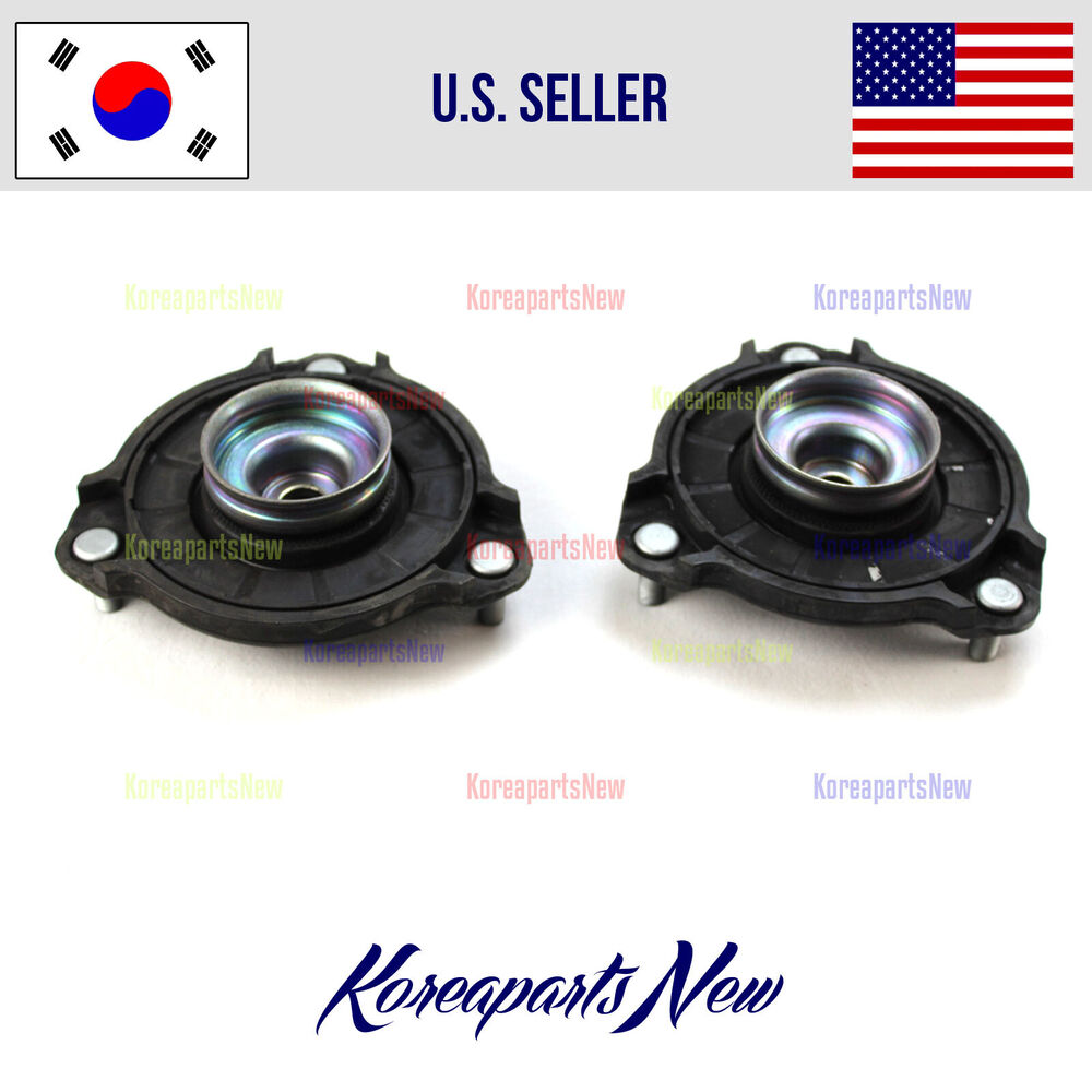 Front Strut Mount Set 2 Ps Genuine 546101m000 Kia