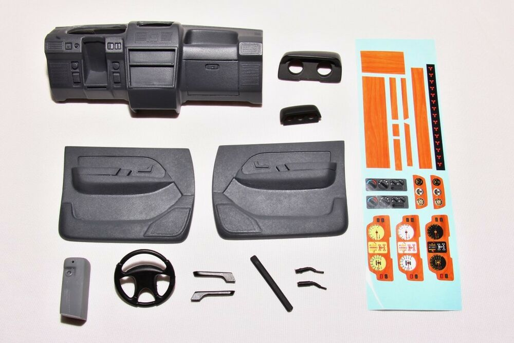 exclusive scale dashboard kit for tamiya cc 01 pajero 1 10 scale offroad rc4wd ebay. Black Bedroom Furniture Sets. Home Design Ideas