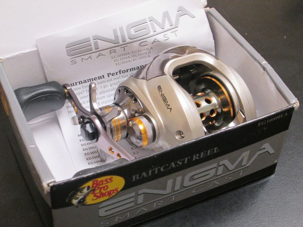 New bass pro enigma smart cast 8bb 5 2 1 lh baitcasting for Enigma fishing rods