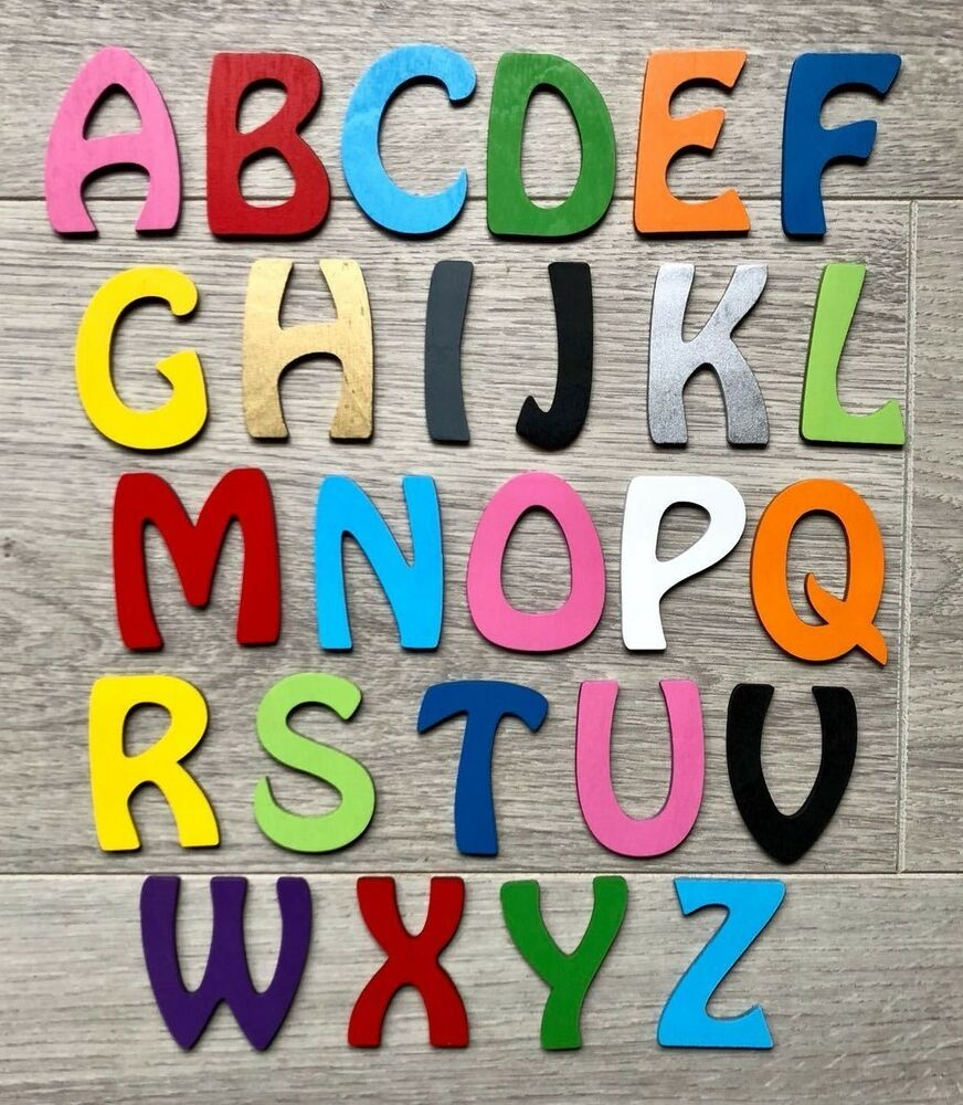 Personalised wooden name plaques words letters wall door for Decoration word
