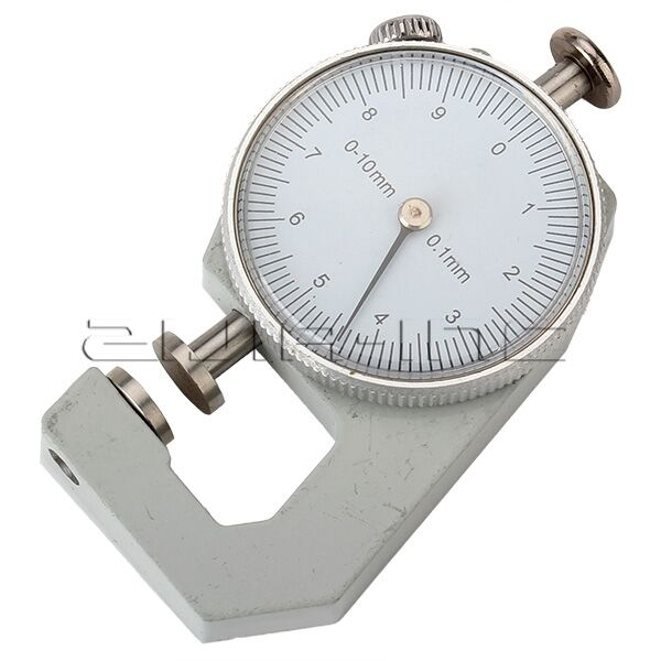 0 to 10mm measurement dial thickness gauge gage tool for sheet metal papter pipe ebay. Black Bedroom Furniture Sets. Home Design Ideas