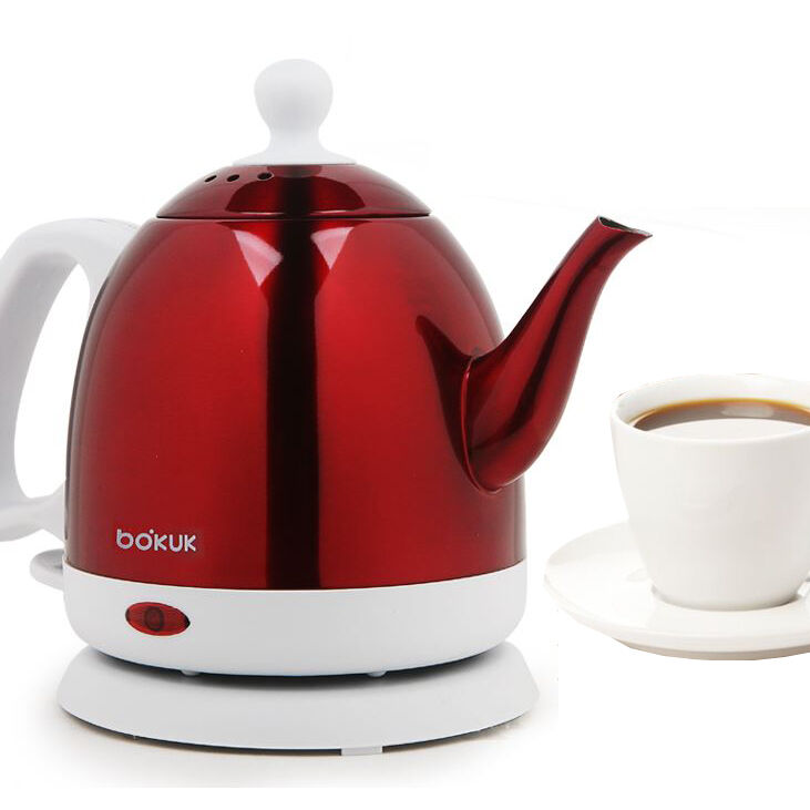 Bokuk Electric Kettle Classic Design Tea Kettle Coffee