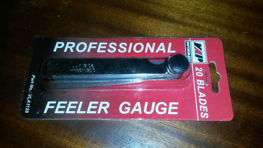 20 Blade Metric Feeler Gauge with Imperial Conversion Chart | eBay